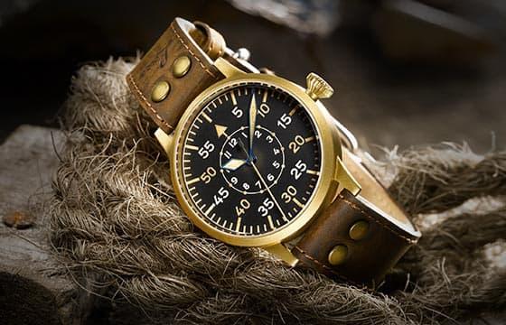 Bronzeuhr - Laco Uhrenmanufaktur