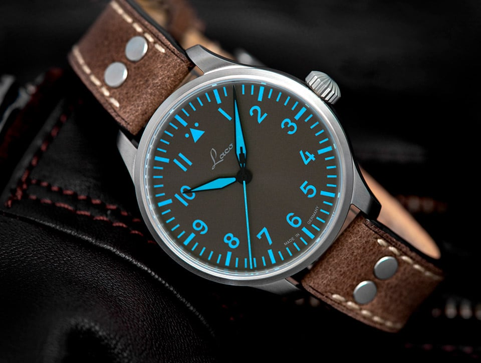 Superluminova C1 Blue Line – Laco Fliegeruhren