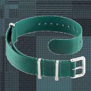 Accessoires Durchziehband Nylon Grün