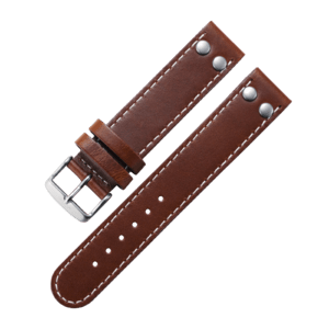 Pilot strap brown 20 mm
