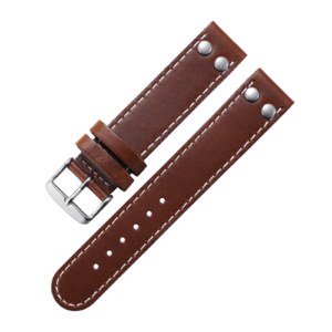 Pilot strap brown 22 mm