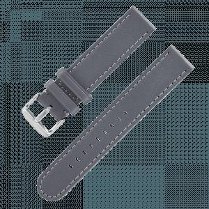 "Leather strap ""Black Automatik"""