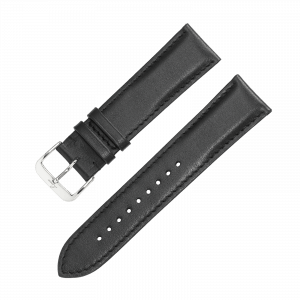leather strap Ulm / Würzburg black