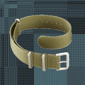 Accessoires Durchziehband Nylon Oliv