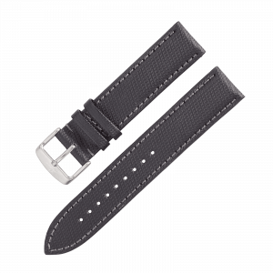Leather strap Nytech GMT black