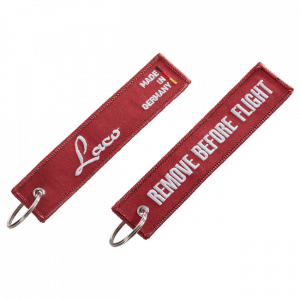"Accessories Keyholder ""Remove before flight"""