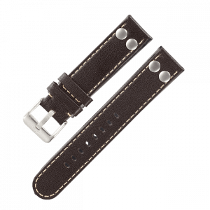 Pilot strap original darkbrown 18 mm