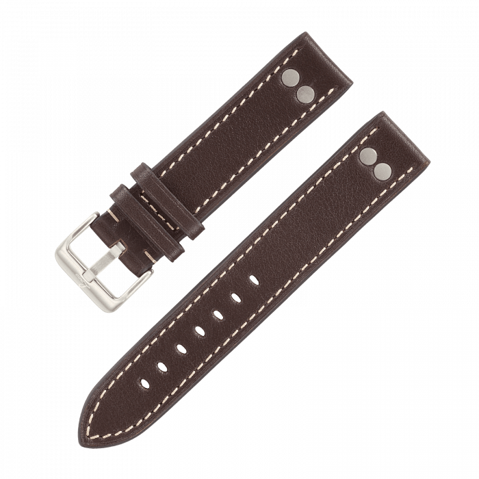 Accessories Pilot strap darkbrown XL 20 mm