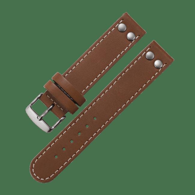 Accessoires Fliegerband hellbraun 20mm