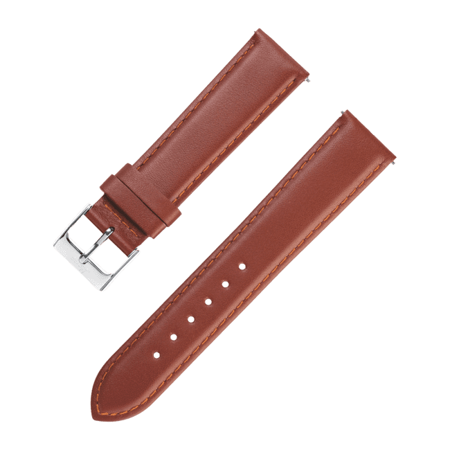 Lederband braun 20 mm