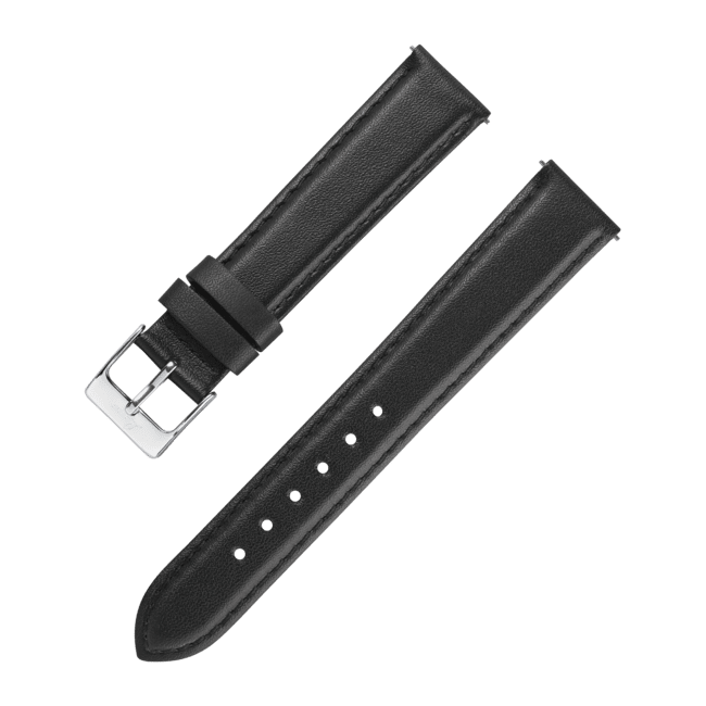 Accessories Leatherstrap black 18 mm