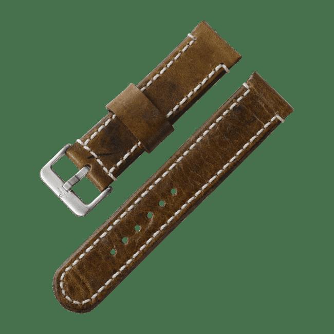 Correa de cuero Vintage de 20 mm