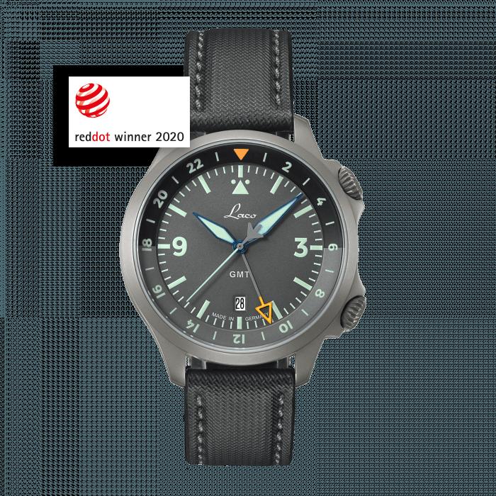 Pilot Watches Special Models FRANKFURT GMT GRAU