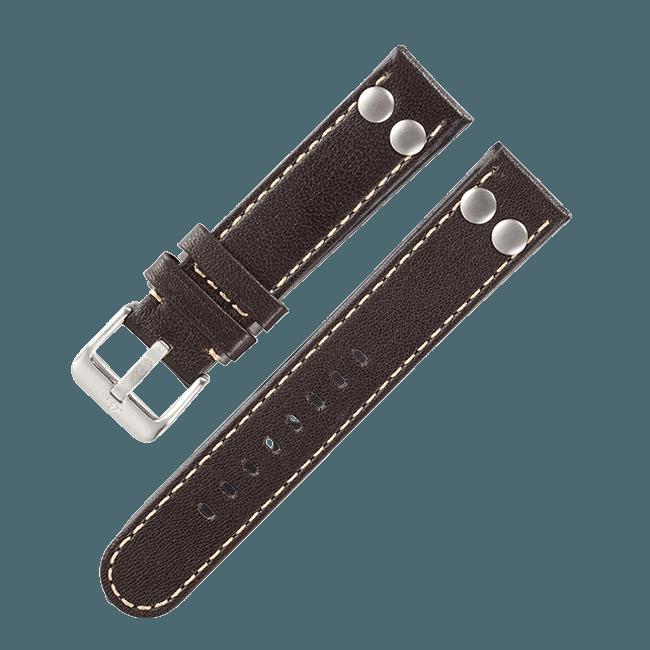 Fliegerband Original Dunkelbraun 18 mm